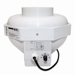 CAN-FAN Buisventilator RKW125L Ø 370m³ incl. thermostaat