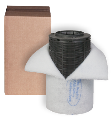 Can-Lite 150m3 Koolfilter flens op maat 100/125mm