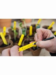 Nature Label plant steeketiket 10cm 25x incl potlood