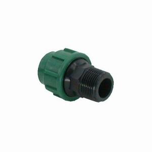 "VDL PE  Koppeling 25 mm. buitendraad 1"", gebruikt"