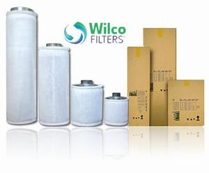 Wilco Carbonfilter 500 m³ flens 125ø 125/500