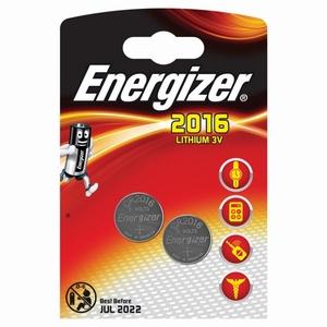 Energizer Lithium 2016 3V 2stuks
