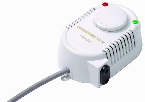 Hygrostaat analoog Plug & Play tbv luchtbevochtiger