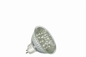 LED Reflektor <(><<)>1W GU5,3 12V 51mm   Warmwit