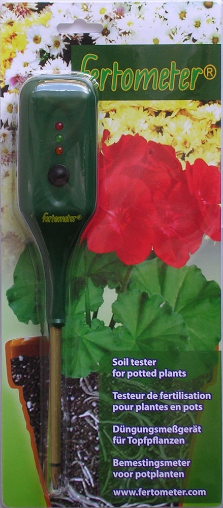Fertometer (soil fertilisation meter)