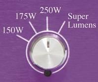 Lumatek evsa 250 watt Regelbaar (dimmable) met Super Lumens