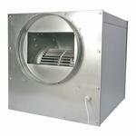 Metalen isobox 550m³ 65watt 1X160Øin 1X160Øuit