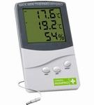 Garden HighPro Min Max Thermo-Hygro meter digital met extern