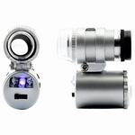 Pocket microscoop zoom 60x met LED