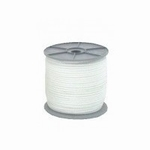 Touw wit nylon 4mm 1mtr.