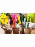 Nortene Label plant steeketiket 10cm 40x 4 kleuren
