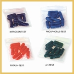 Replacement capsulets Rapitest  1601, 1605 and 1610CS