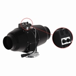 TT Silent M 160 Buisventilator + fancontroller  Ø160mm