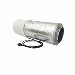 Winflex Mini fan (185m3) filter + demper