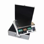Weegschaal 1gram t/m 15 kg in aluminium koffer