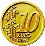 Bij betaling € 0,10.- per aantal