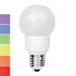 LED Globe 60 7 kleuren 1W E27