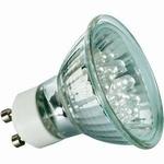 LED Reflektor 24° <(><<)> 1W GU10 230V 5 Warmwit
